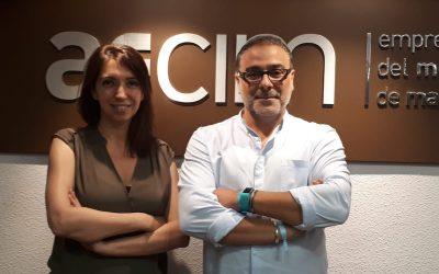 El director financiero de Enea, se reunió la semana pasada en la sede de aecim